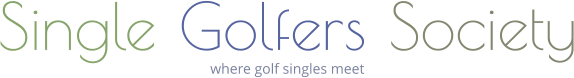 Single Golfers Society where golf singles meet
